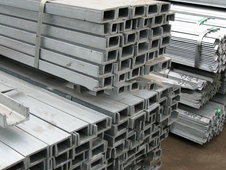 Thép chữ U  Spot wholesale Wuhan Building Decoration 10 # 12 # 14 # hot galvanized channel dedicated