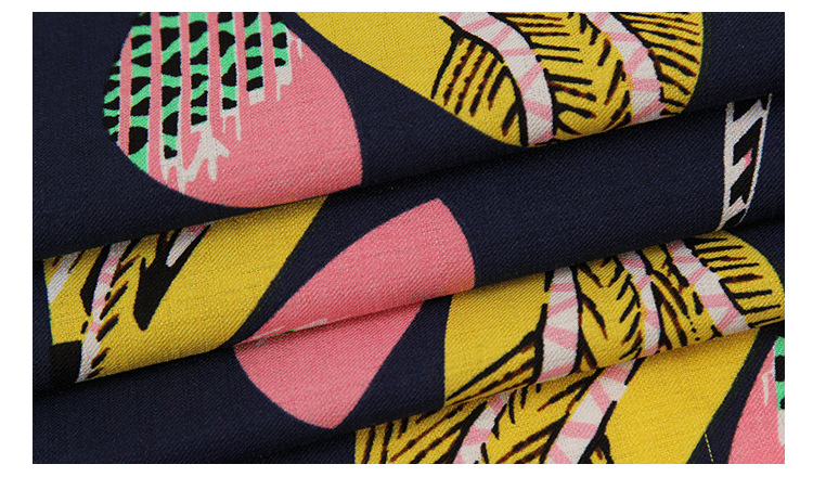 V ải Twill Factory direct 100% polyester watermark printed woven fabrics for clothing