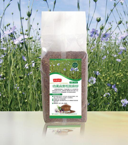NLSX dầu thực vật   Ningxia six Panshan farm gold organic flax seed flax seed linseed oil 500g dome
