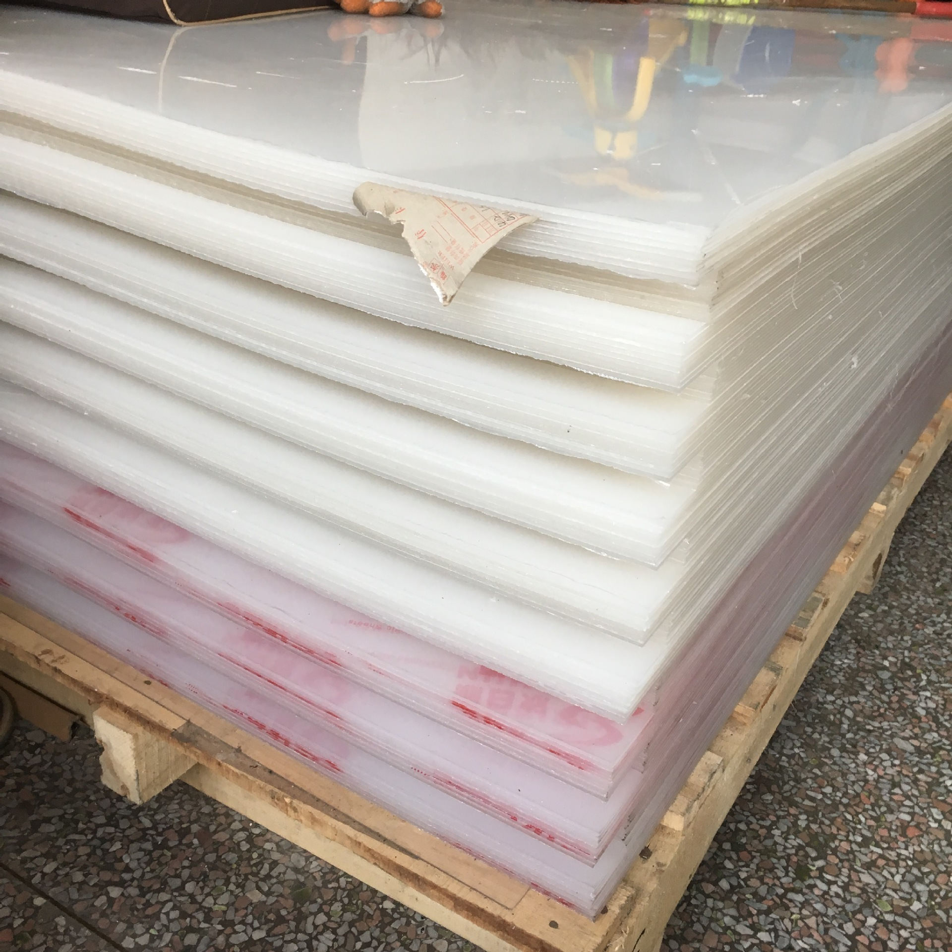 Tấm dẫn sáng  The supply of light guide plate 3mm*1250*2500 acrylic sheet extrusion