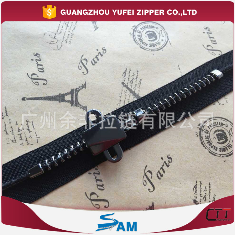 Dây kéo kim loại  Factory outlets stock a small group of alloy zipper buckle adjust the slider to a