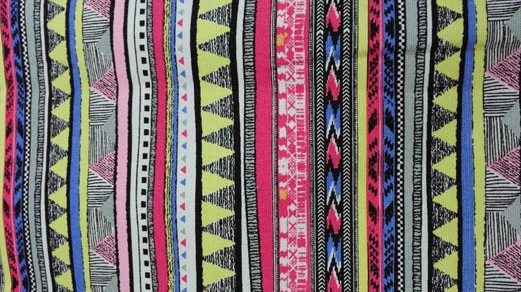 vải mộc   12 Ann canvas printing canvas fabric geometry bedding manufacturers spot wholesale spot