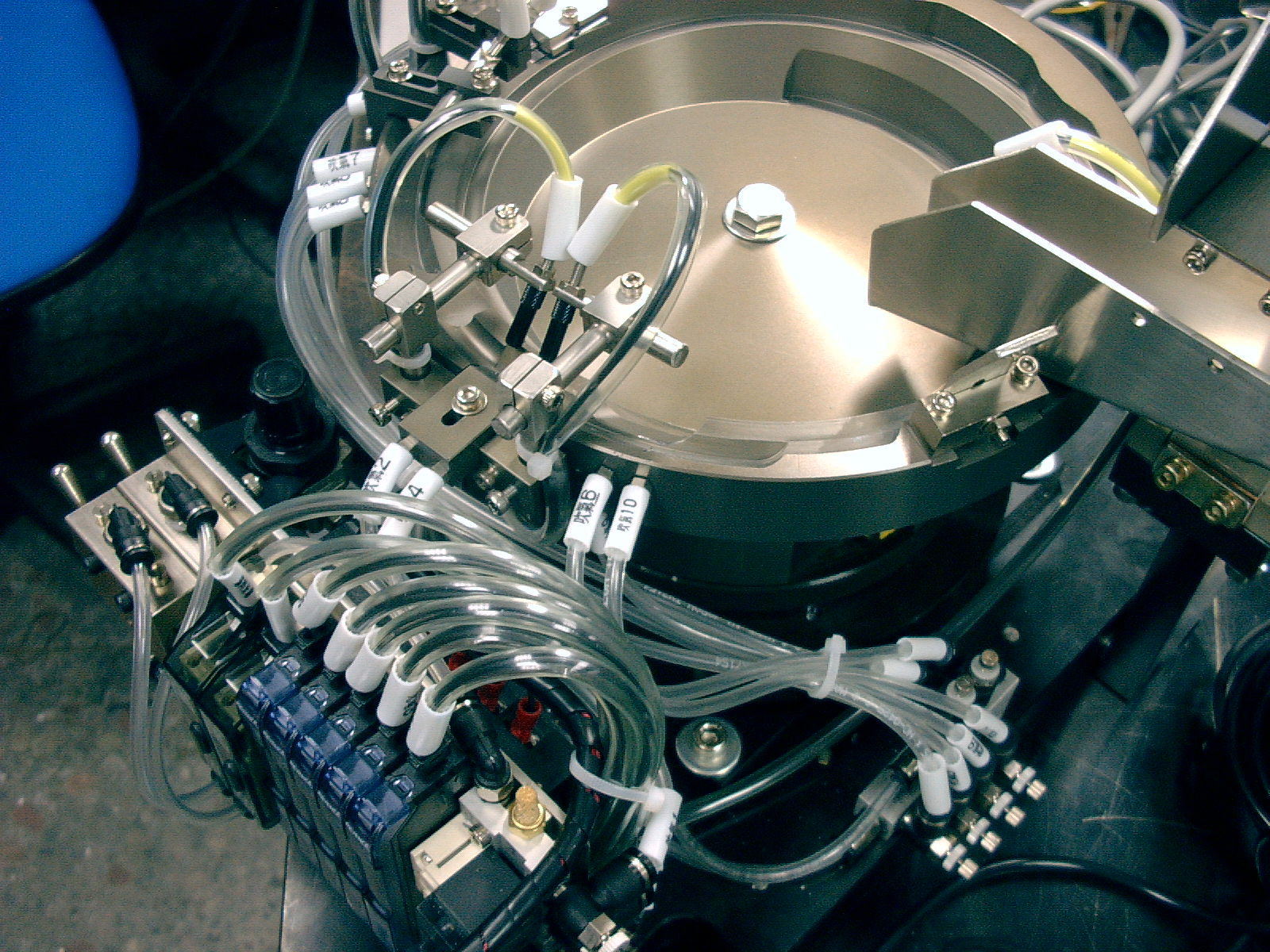 Máy sàng    Precision vibration plate