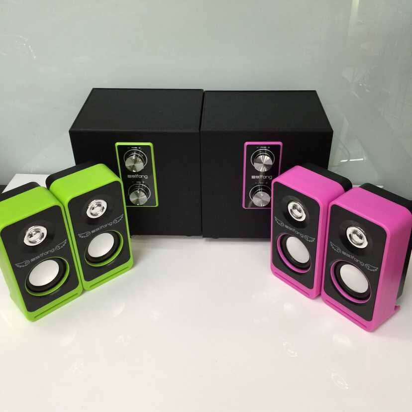 Thị trường phụ kiện vi tính  Love put / 2110 new 2.1 subwoofer speaker speaker factory direct whole