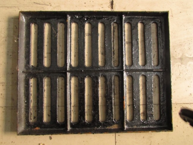 500*500*30/ ductile iron manhole cover / rain drain ditch water grate cover / kitchen trench cover