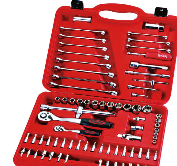 Dụng cụ tổng hợp   Supply toolking extension into 78 sets of combination machine repair tool