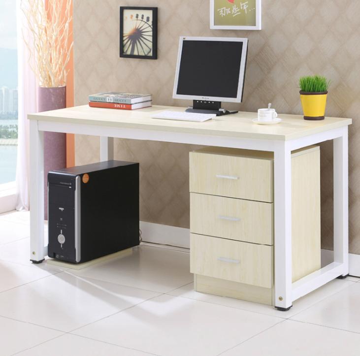 Máy tính để bàn - PC   New steel easy desktop computer desk desk home secretary desk with drawers c