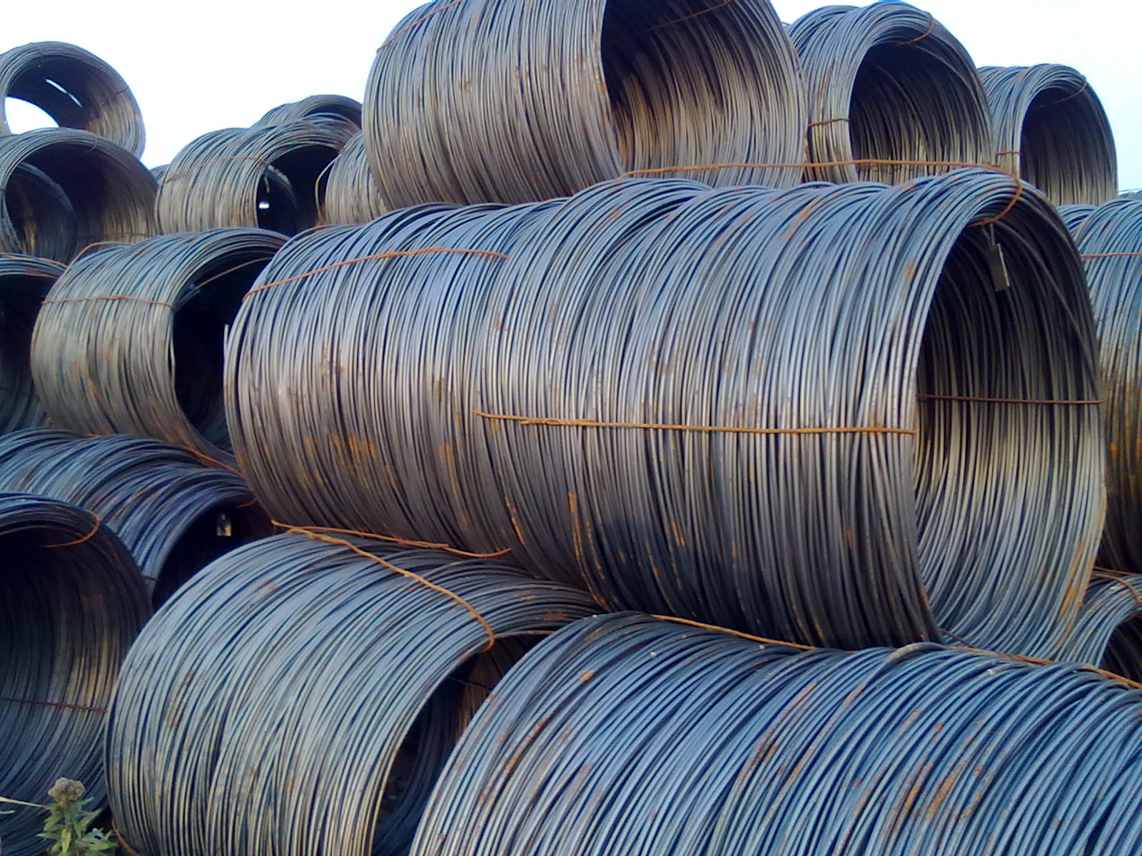 Dây thường Jilin Xinda steel wire Xinda Xinda wire with the diameter of 10 HPB235