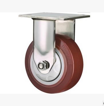 bánh xe đẩy(Bánh xe xoay)  Heavy biaxial polyurethane wheel