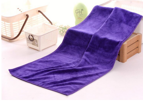 Vải khăn lông  Good thickening absorbent towel dry hair salon hair salon special microfiber towel wh