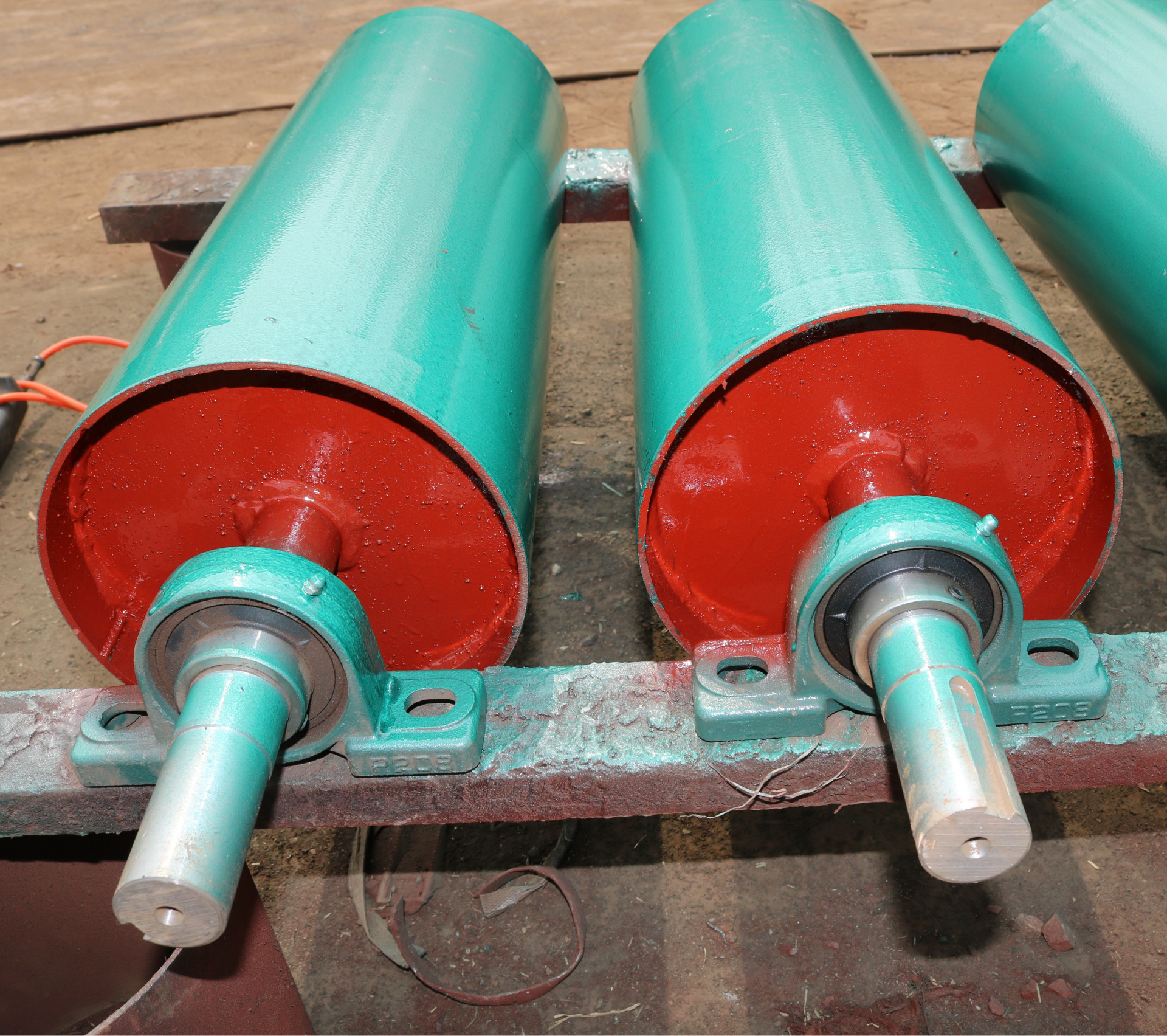 Con lăn   Drum manufacturers specializing in the production of non-powered mine roller conveyor rol