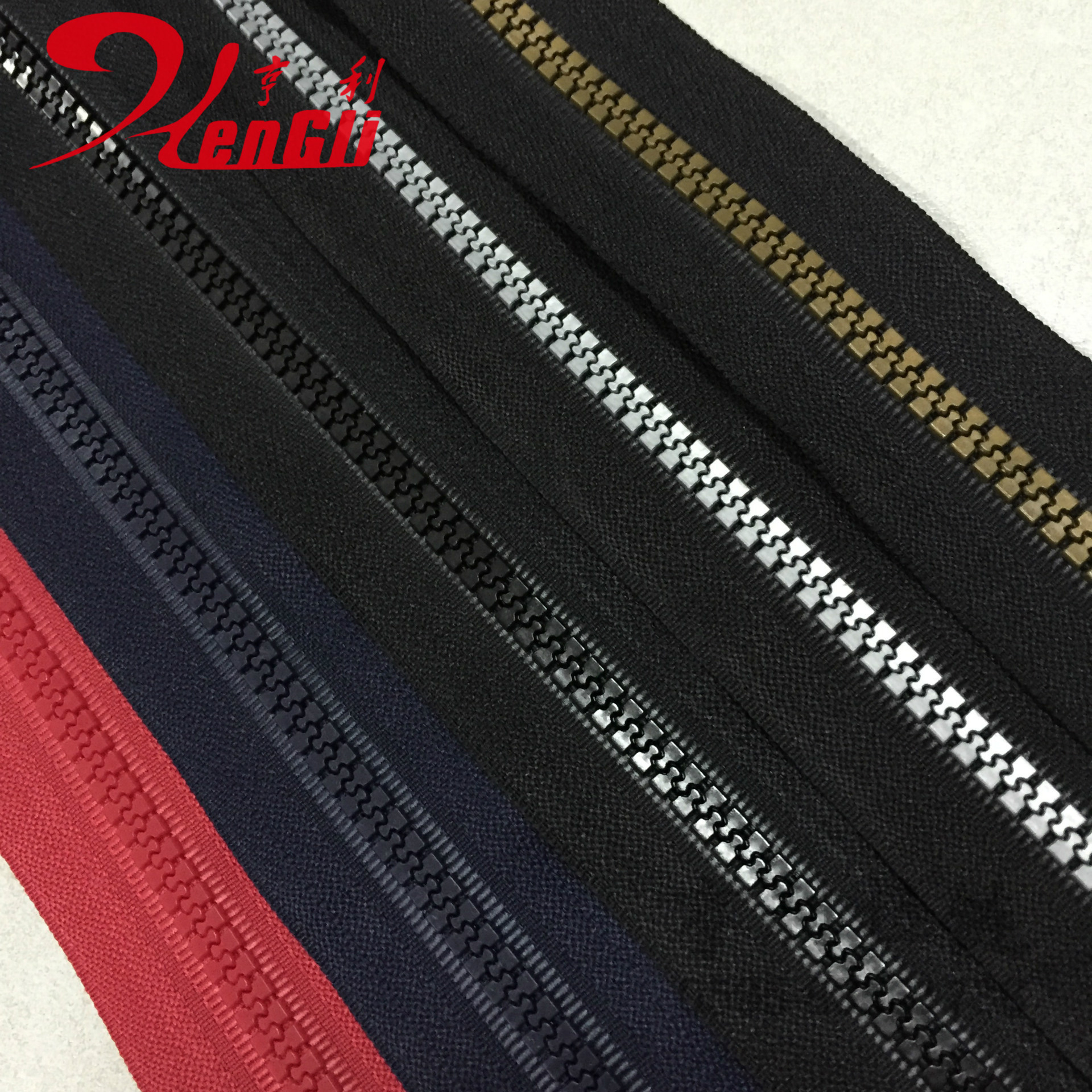 Dây kéo nhựa   Resin zipper zipper factory Yiwu wholesale Introducing popular favorite clothing manu