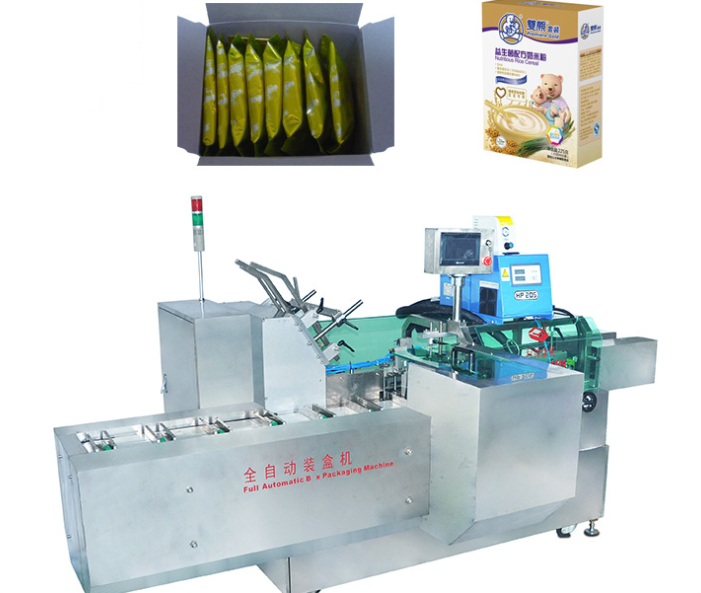 Máy đồ họa 3D và dựng phim Guangzhou cartoning machine to connect multiple columns packaging machine