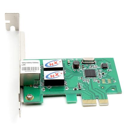 Hexin counter genuine PCI-E Gigabit Ethernet NIC Rtl8111C Desktop pcie