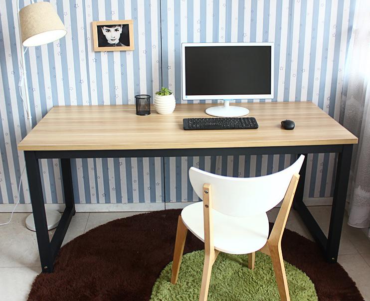 Máy tính để bàn - PC  Simple wholesale home computer desk desk desktop computer desk training table