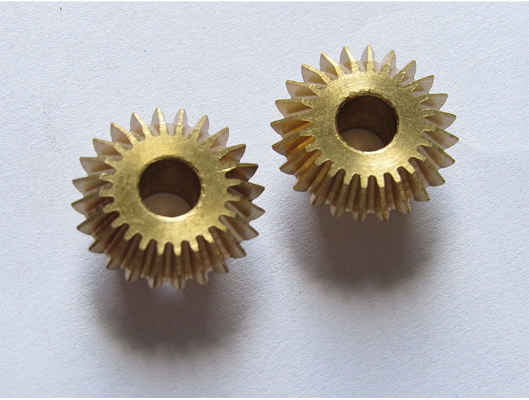 Dây curoa    Shenzhen supply small module 0.6 bevel gear Cylindrical precision copper gear bevel ge