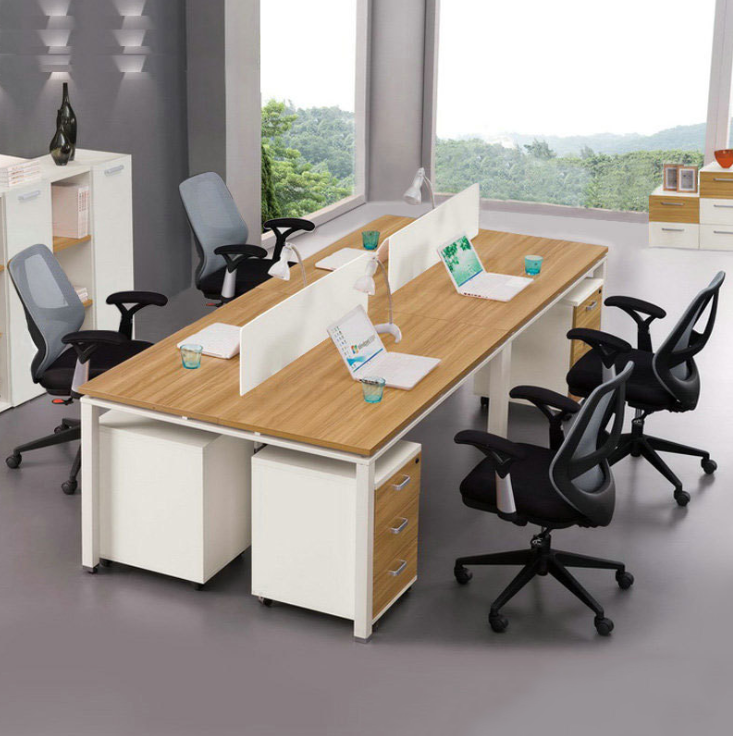 Shanghai office furniture screen simple desk clerk work table four bits fashion staff computer desk