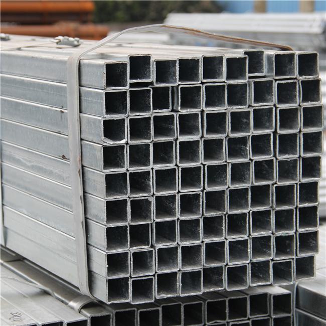 Thị trường sắt thép  Rectangular tube galvanized square tube steel market moment 50 * 100 * 40 to 6