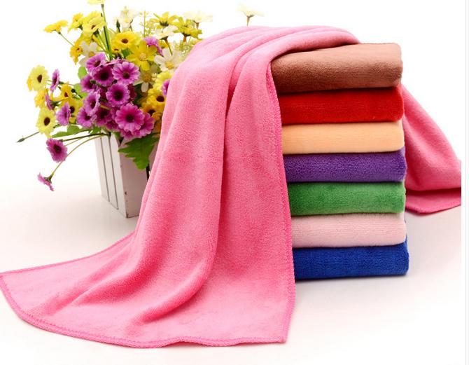 Vải khăn lông Thick towel dry hair Barber beauty salon salon salon fast dry shampoo than pure cotton