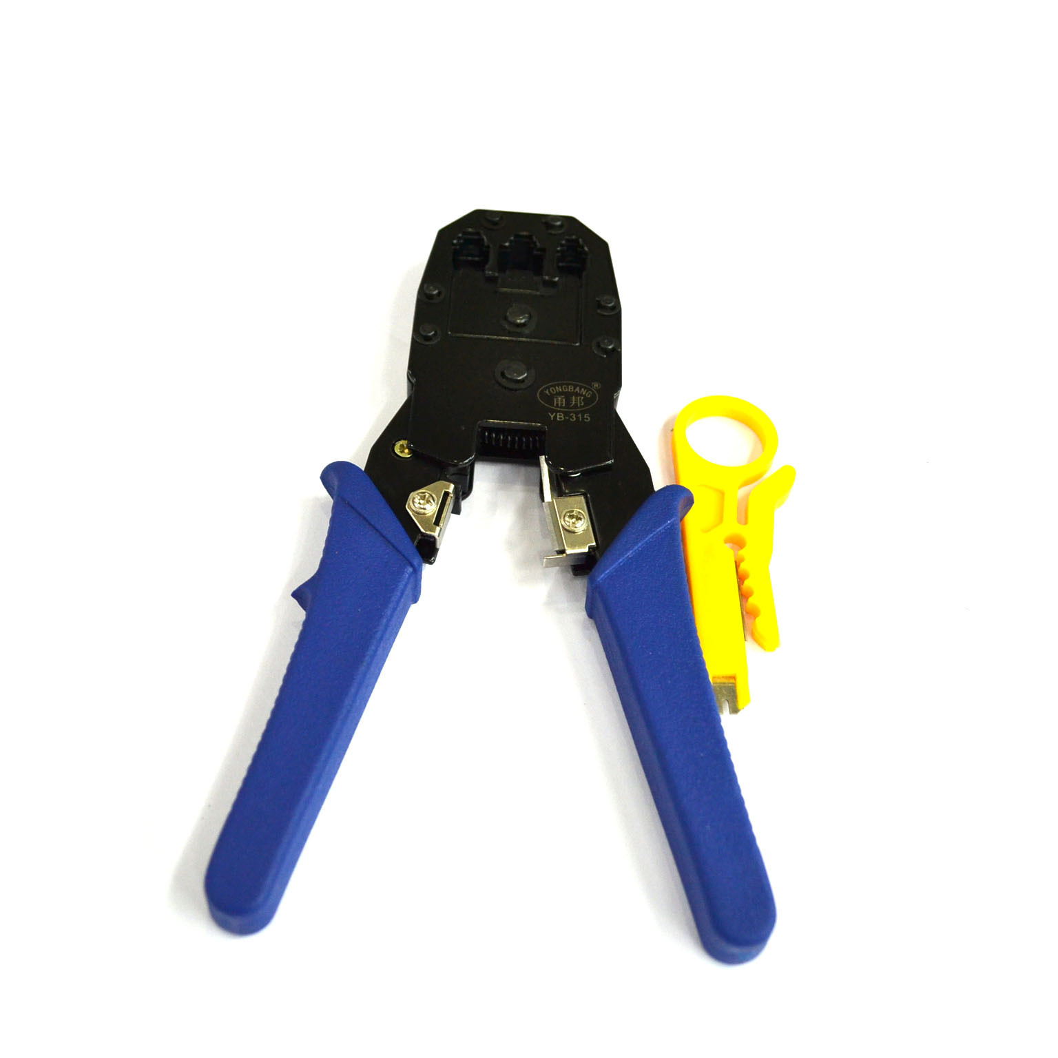 Con lăn   Bang Yong three crimping pliers with a net pliers multifunctional RJ45 network pliers str