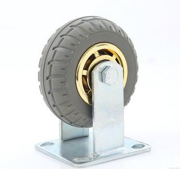 bánh xe đẩy(Bánh xe xoay)  Heavy 6 inch 5 inch 8 inch plating Jinlun super mute handcart industry u