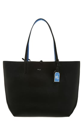 Lauren Ralph Lauren OLIVIA - Shopping Bag - black/cyan