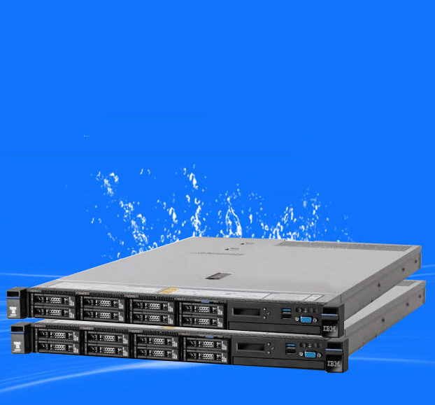 Máy chủ - Serve   Lenovo server IBM X3550 M5 E5-2609V3 2x8G 300G 1U rack scalable extension
