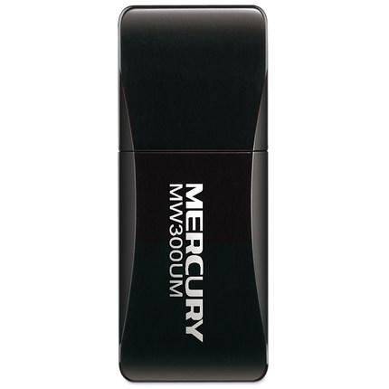 Card mạng  Mercury MW300UM usb wireless card desktop computer external portable wifi Receiver Trans
