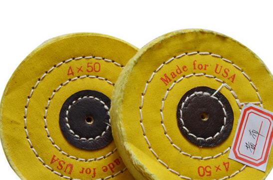 Vật liệu mài mòn  YL jewelry abrasive wheel cotton flannel buff yellow cloth round mirror polishing