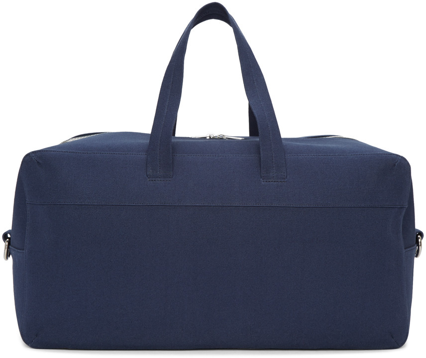 Navy Canvas Xavier Duffle Bag
