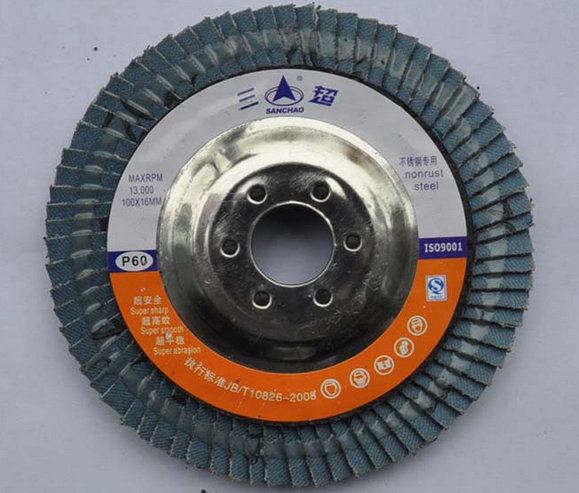 Factory direct corundum one hundred pieces of three Super Industrial Hundred round flexible disc Lee