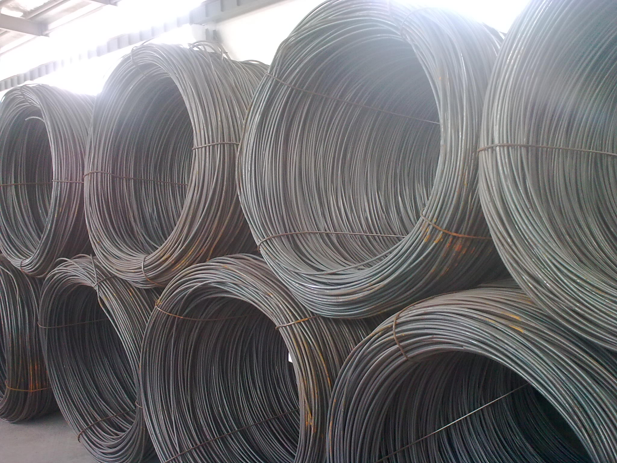 Dây thường  The specifications of Q195Q235 6.5-16MM supply wire wire on the north of Jiujiang