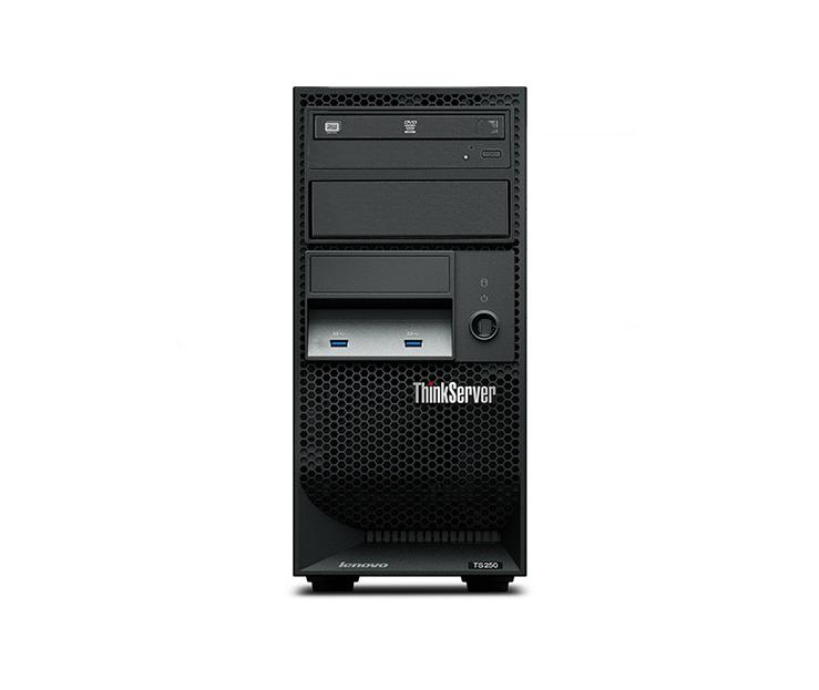 Máy chủ - Serve   Lenovo ThinkServer TS250 server Xeon quad-core E3-1225V5 4G 1TB new host
