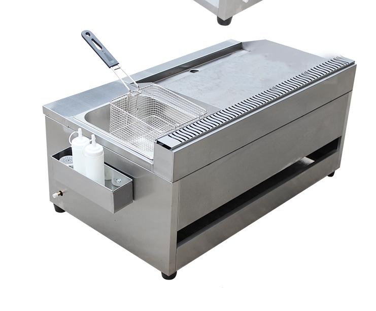 Máy đồ họa 3D và dựng phim   Commercial gas griddle gas clutch cake machine fryer fryer machine tep