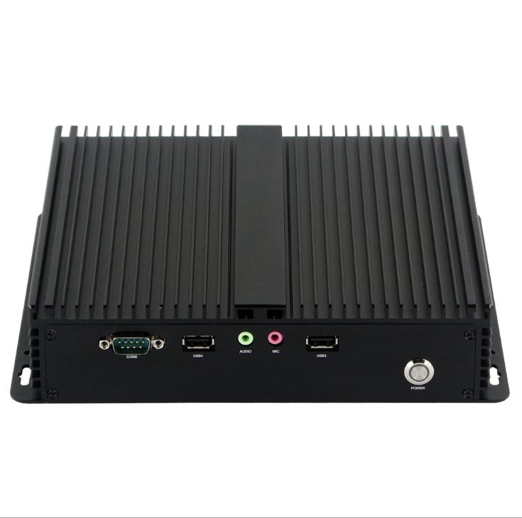Máy chủ - Serve   Dust Core i5 fanless embedded industrial computer mini industrial computer OEM Di