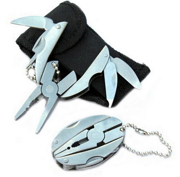 Con lăn   Mini MINI multi-function knife clamp hardware tool folding outdoor combination pliers pli