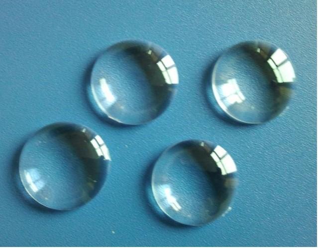 Đèn LED thấu kính  Supply plane convex lens magnifying lens optical PMMA lens