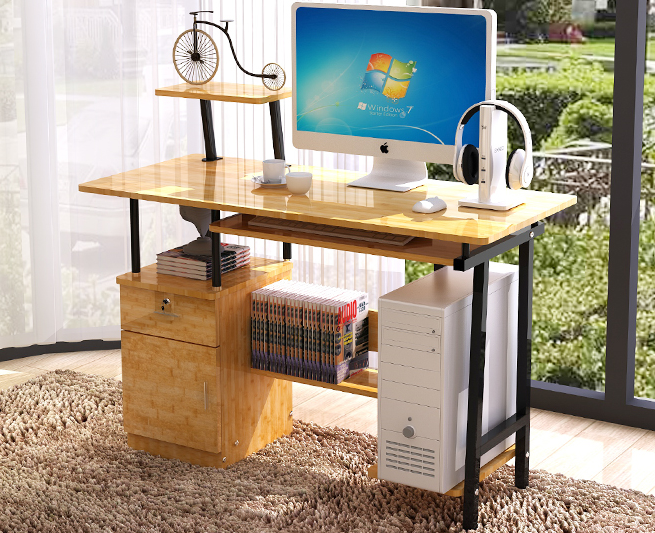 Máy tính để bàn - PC   Wholesale and ikea computer desk desktop household contracted simple desk de