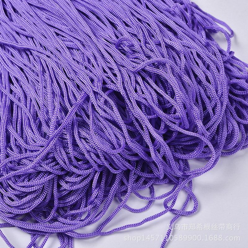 Dây kim loại  3mm4mm polypropylene nonwoven fabric drawstring hand Tisheng hollow rope sling rope wi