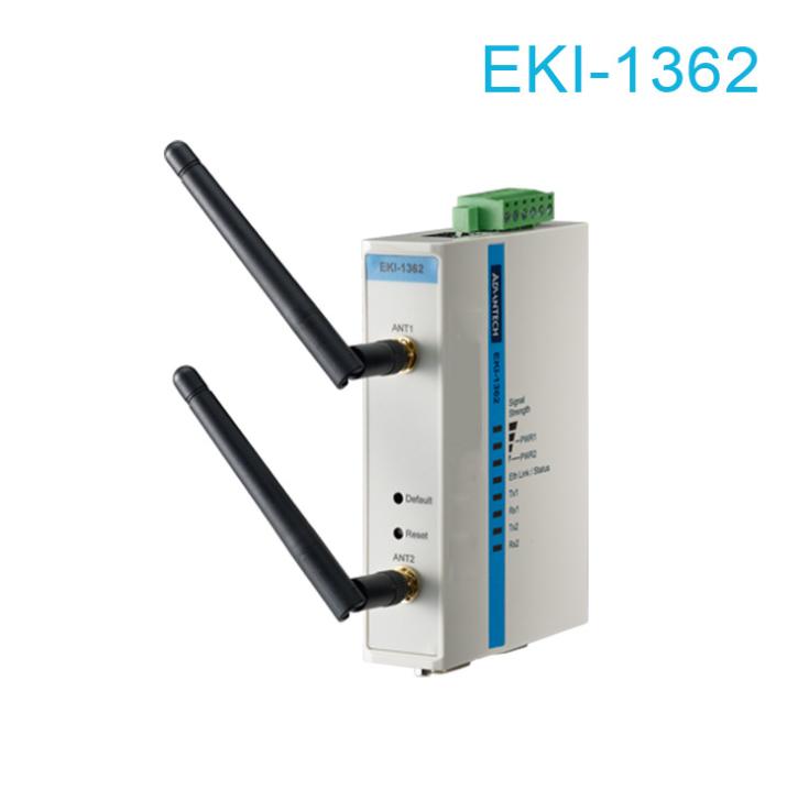 Máy chủ - Serve   Advantech's EKI-1362 2-port RS-232/422/485 turn 802.11b / g / n serial server