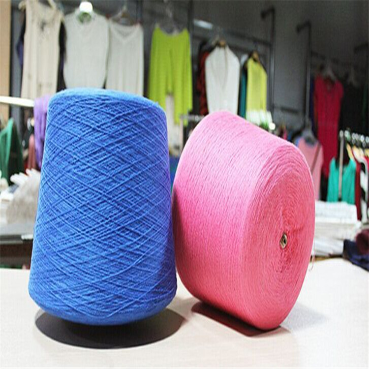 Sợi bông  Factory direct 32/2 pure cotton yarn more than 300 semi-combed yarn color genuine securit