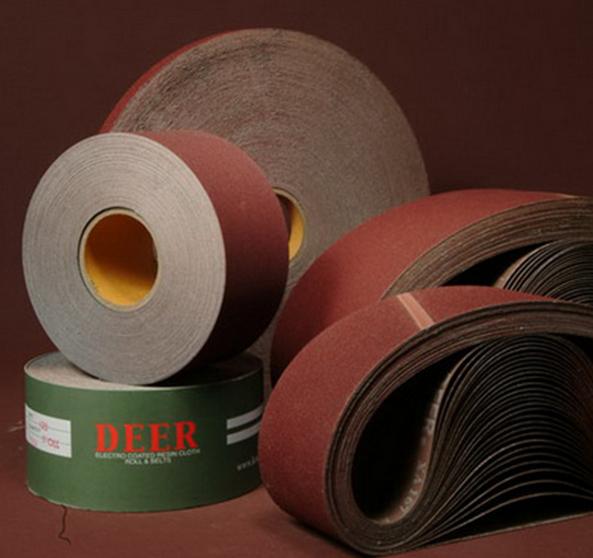 Vật liệu mài mòn  Deer license corundum belt sanding belt roll plywood imports sparse plant abrasive