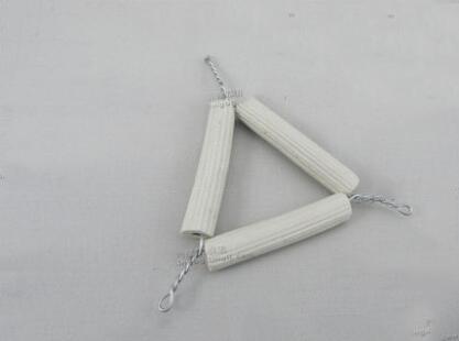 Dụng cụ thí nghiệm  Mud xing star teaching instrument 】 【 triangle ceramic clay chemistry experimen