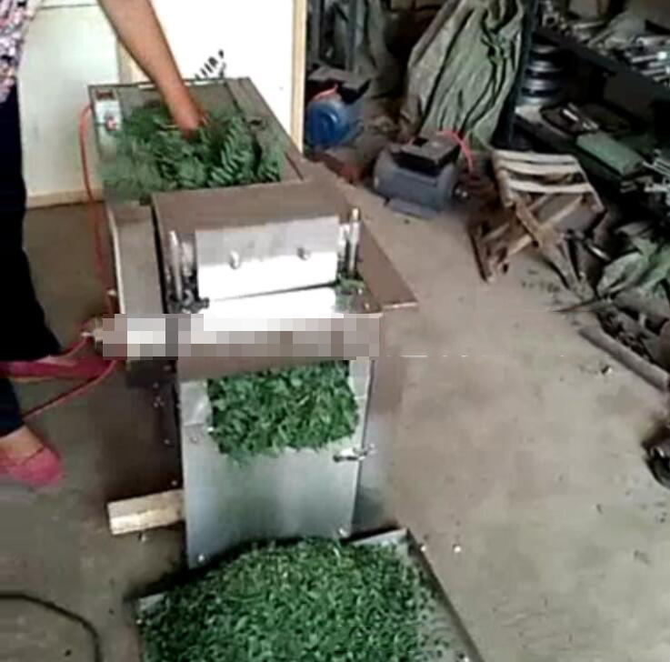 DBond company custom wood cutting machine medicinal herbs medicinal rhizome cutting machine and cut