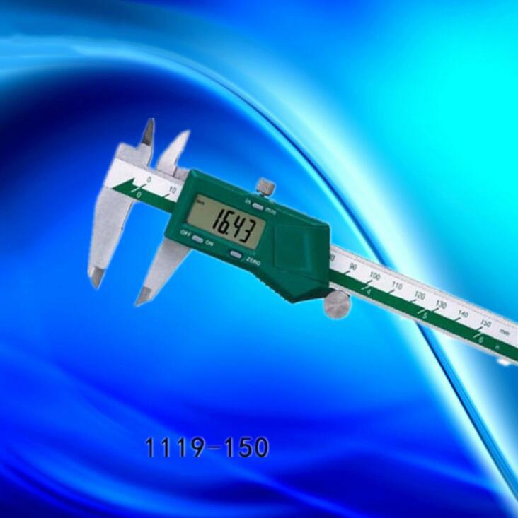 Thước kẹp điện tử   The INSIZE rod caliper caliper stainless steel 1119-150 0-150mm/0-6
