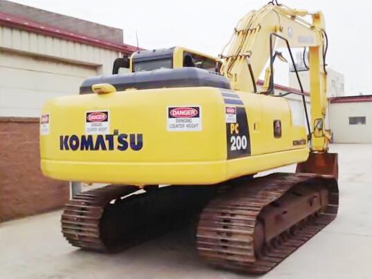 Máy đào đất  [Discount] new reservation 200 excavators, used Kobelco 200 excavator original, free s
