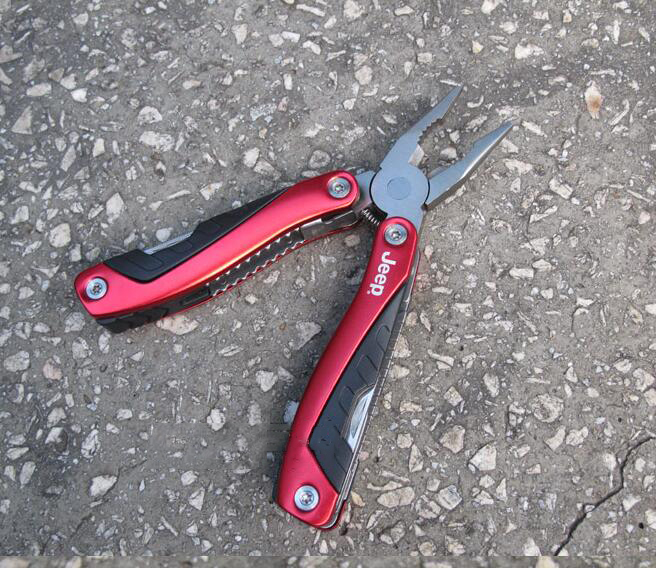 Con lăn   Creative Outdoor multifunction wrench bicycle tool combination pliers open bottle screwdr