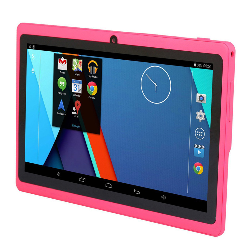 Factory direct 7-inch Q88 Actions 7029 with a high-definition interface quad-core Tablet PC 4G / 8G