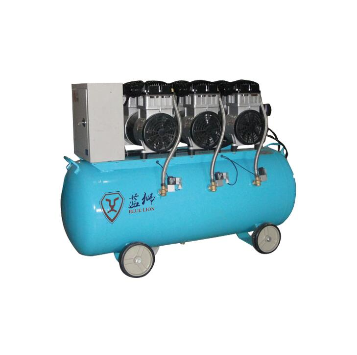 Oil free compressor piston type oil free air compressor industry without oil air compressor BW1503/7