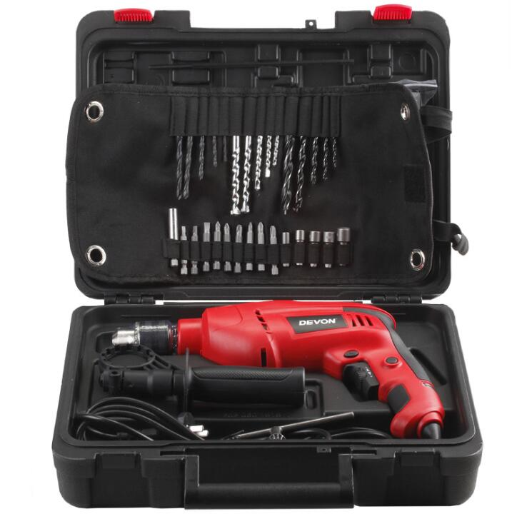 Dụng cụ bằng điện  1515 DEVON great impact drill multifunction household electric tools dual 13mm I